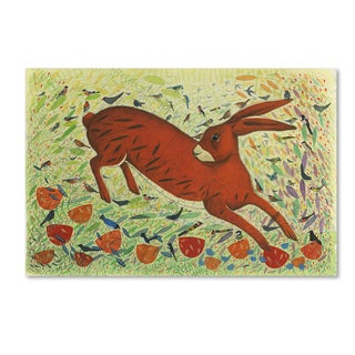 Michelle Campbell 'The Arrival Of Spring' Canvas Art