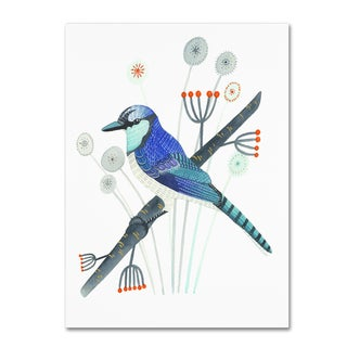 Michelle Campbell 'Blue Jay' Canvas Art