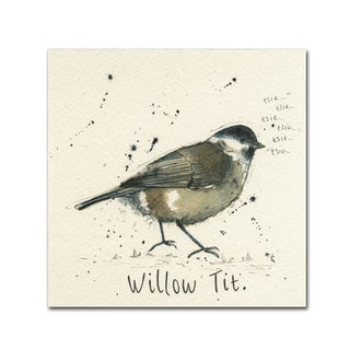 Michelle Campbell 'Willow Tit' Canvas Art
