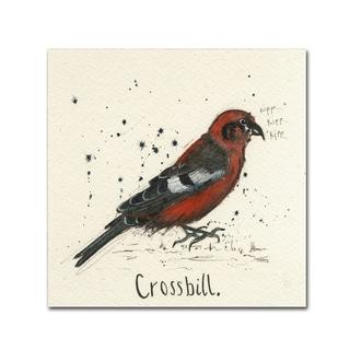 Michelle Campbell 'Crossbill' Canvas Art