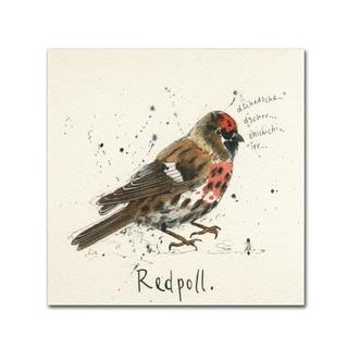 Michelle Campbell 'Redpoll' Canvas Art