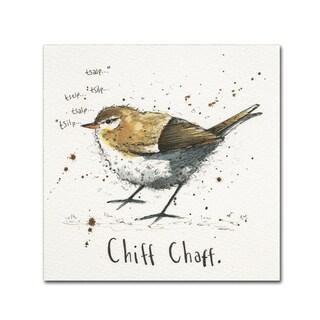 Michelle Campbell 'Chiffchaff' Canvas Art