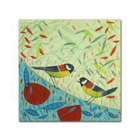 Michelle Campbell 'Bird Design' Canvas Art