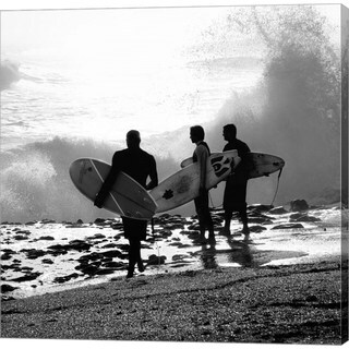 Harold Silverman 'The Surfers' Canvas Art