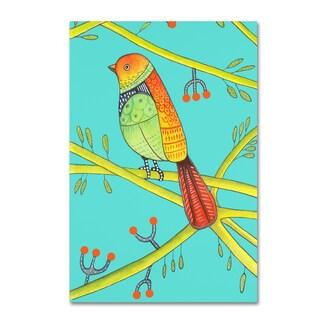 Michelle Campbell 'Bird Design 4' Canvas Art