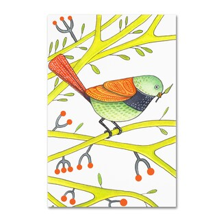 Michelle Campbell 'Bird Design 2' Canvas Art