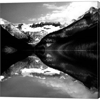 Harold Silverman 'Lake Louise Canada' Canvas Art