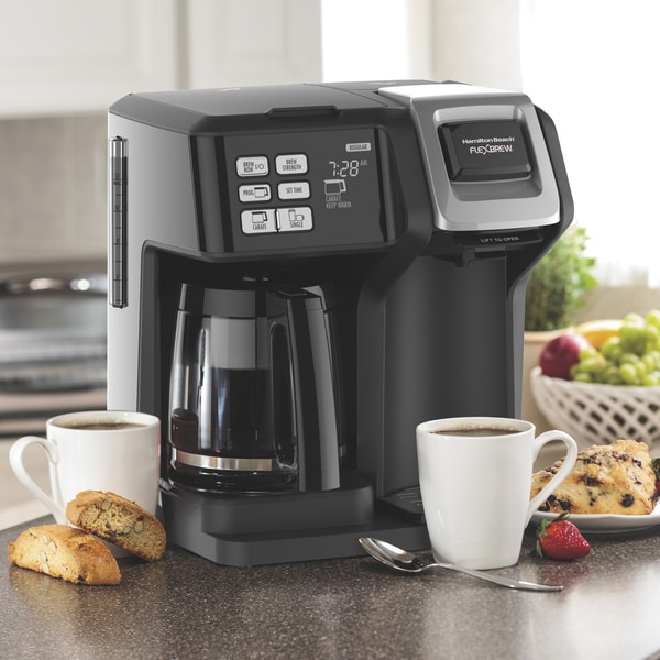 Hamilton Beach FlexBrew 2-Way Coffee Maker. Opens flyout.