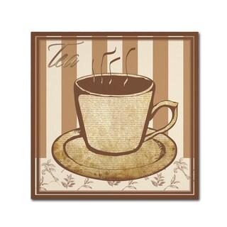 Masters Fine Art 'Tea' Canvas Art