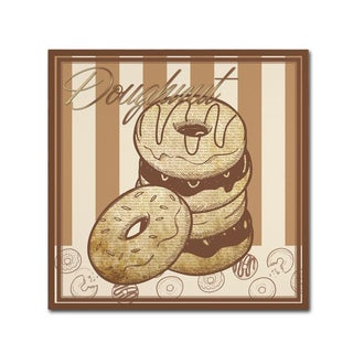 Masters Fine Art 'Doughnut' Canvas Art