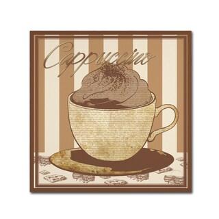 Masters Fine Art 'Cappuccino ' Canvas Art