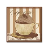 Masters Fine Art 'Cappuccino ' Canvas Art