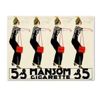 Vintage Lavoie 'Ads-0078' Canvas Art