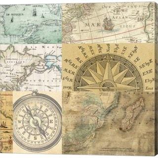 Joannoo 'Cahiers de Voyage III' Canvas Art