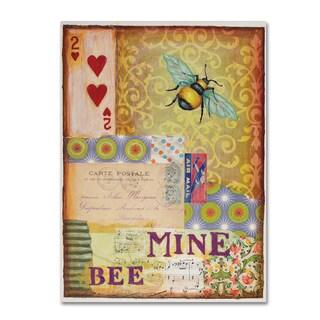 Rachel Paxton 'Bee Mine' Canvas Art