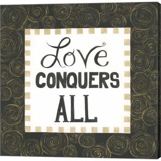Cindy Shamp 'Love Conquers All' Canvas Art