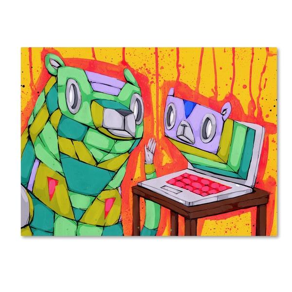 Ric Stultz 'Online Relationship' Canvas Art