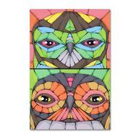 Ric Stultz 'Owls' Canvas Art