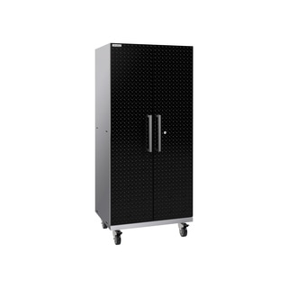 NewAge ProductsPerformance Plus 2.0 Diamond Plate Black Mobile Locker