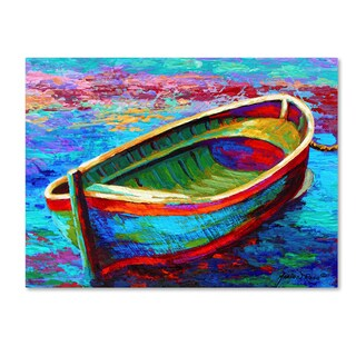 Marion Rose 'Boat 9' Canvas Art