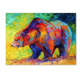 Marion Rose 'New Grizz' Canvas Art