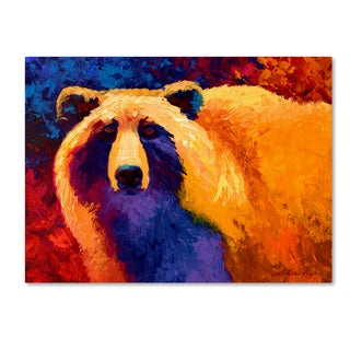 Marion Rose 'Ab Grizz II' Canvas Art