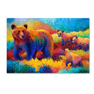 Marion Rose 'Grizz Family' Canvas Art