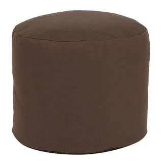 Tall Pouf Sterling Chocolate