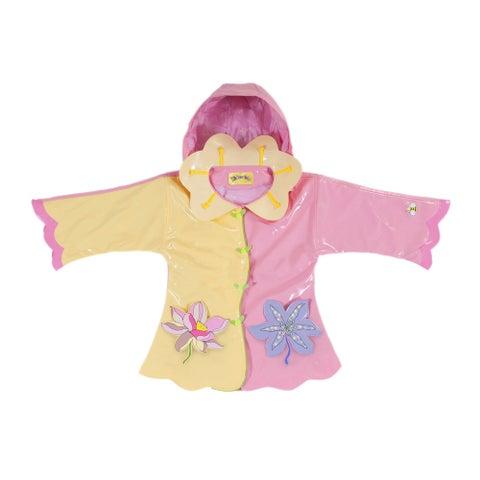 Kidorable Lotus Flower Rain Coat