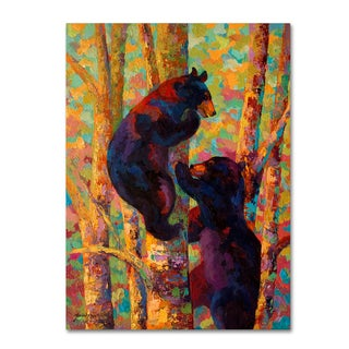Marion Rose 'Two High' Canvas Art