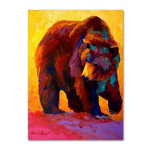 Marion Rose 'My Fish Grizz' Canvas Art