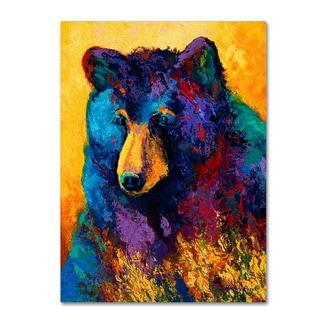Marion Rose 'Bear Pause' Canvas Art