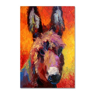 Marion Rose 'Donkey Portrait II' Canvas Art