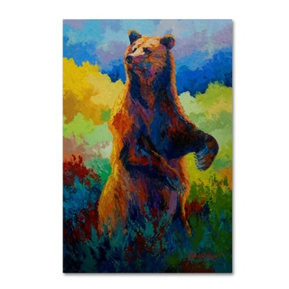 Marion Rose 'I Spy Grizz' Canvas Art