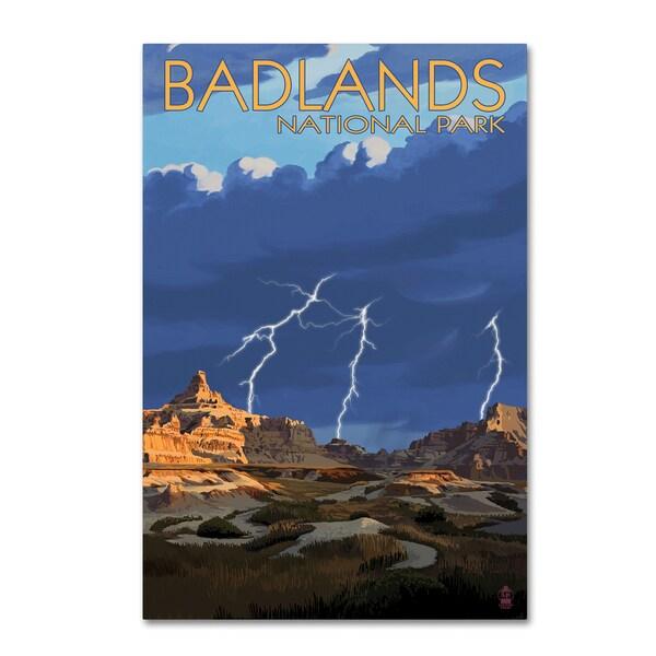 Lantern Press 'Travel Poster 112' Canvas Art