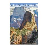 Lantern Press 'National Park 4' Canvas Art
