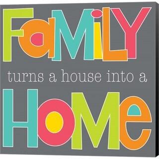 Alli Rogosich 'Family Makes a Home' Canvas Art