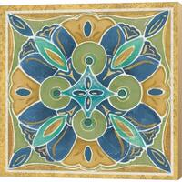Daphne Brissonnet 'Free Bird Mexican Tiles I' Canvas Art