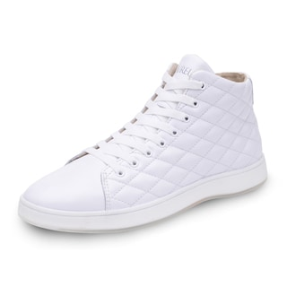 Men's Aureus Lux Mid-Top Quilted Sneaker