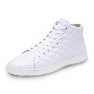 Men's Aureus Lux Mid-Top Quilted Sneaker