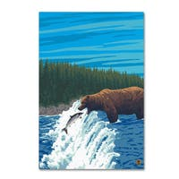 Lantern Press 'Animal 21' Canvas Art