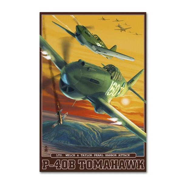 Lantern Press 'Military' Canvas Art