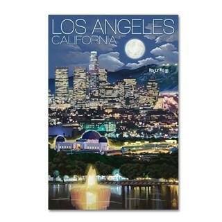 Lantern Press 'City' Canvas Art