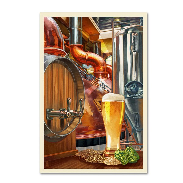 Lantern Press 'Food And Drink 7' Canvas Art