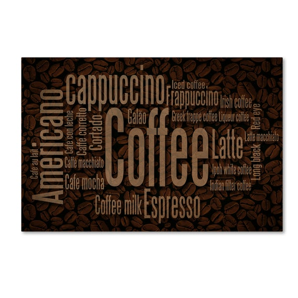 Lantern Press 'Coffee 1' Canvas Art