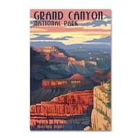 Lantern Press 'Grand Canyon' Canvas Art
