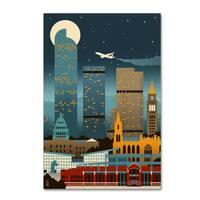 Lantern Press 'Travel 128' Canvas Art