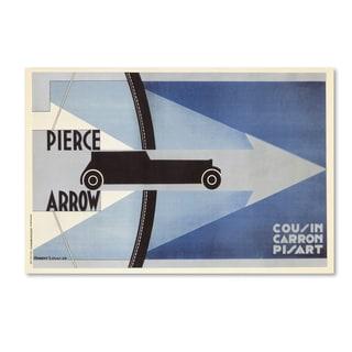 Lantern Press 'Car 9' Canvas Art