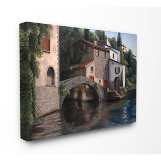 Living on the Water Stretched Canvas Wall Art