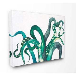 Tillandsia Illustration Stretched Canvas Wall Art